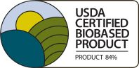 Logo USDA Certified Biobased Product BLC-100