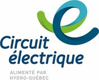 Logo Circuit électrique - Borne de recharge voiture électrique bibliothèque et centre multifonctionnel Boucherville