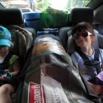 Chevrolet Volt - place arrière siège pour enfants