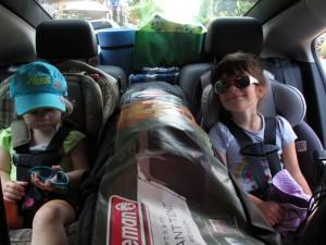 Chevrolet Volt - place arrière siège pour enfants  - essai routier