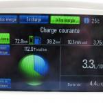 Distance totale mode entièrement électrique Chevrolet Volt 2012