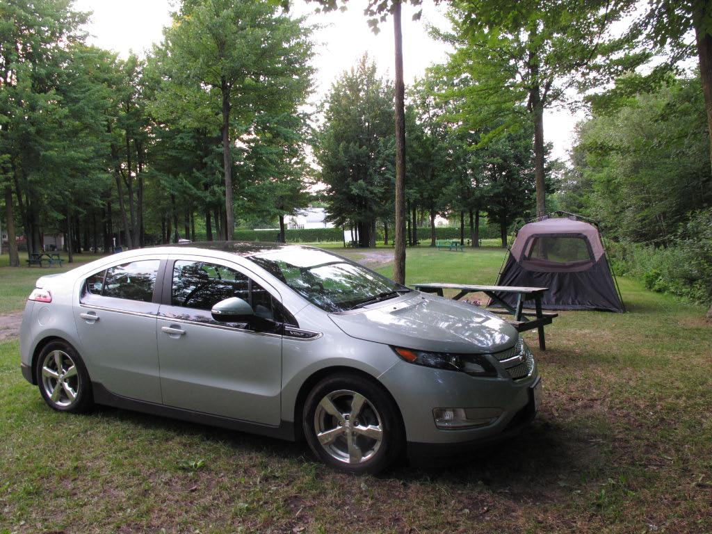 Camping Chevrolet Volt 2012