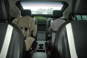 Places arrière Chevrolet Volt - rear seat Chevrolet Volt