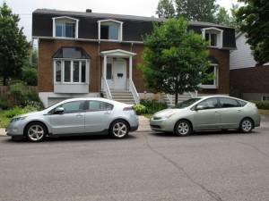 Toyota Prius vs Chevrolet Volt  - essai routier