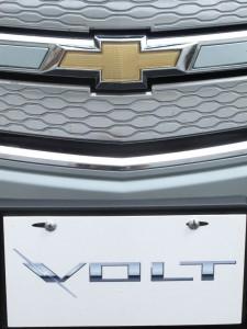 Calandre voiture électrique autonomie prolongée Chevrolet Volt  - essai routier