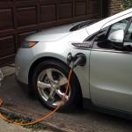 Recharge voiture électrique Chevrolet Volt chargeur portatif 120V