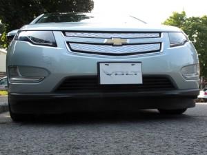 Jupe aérodynamique Chevrolet Volt  - essai routier