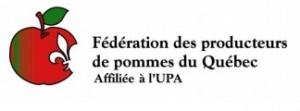 Logo Fédération des producteurs de pommes du Québec - Sondage pommes OGM