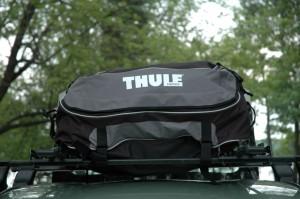 Sac à bagages de toit Thule Quest 846 vu de l'avant