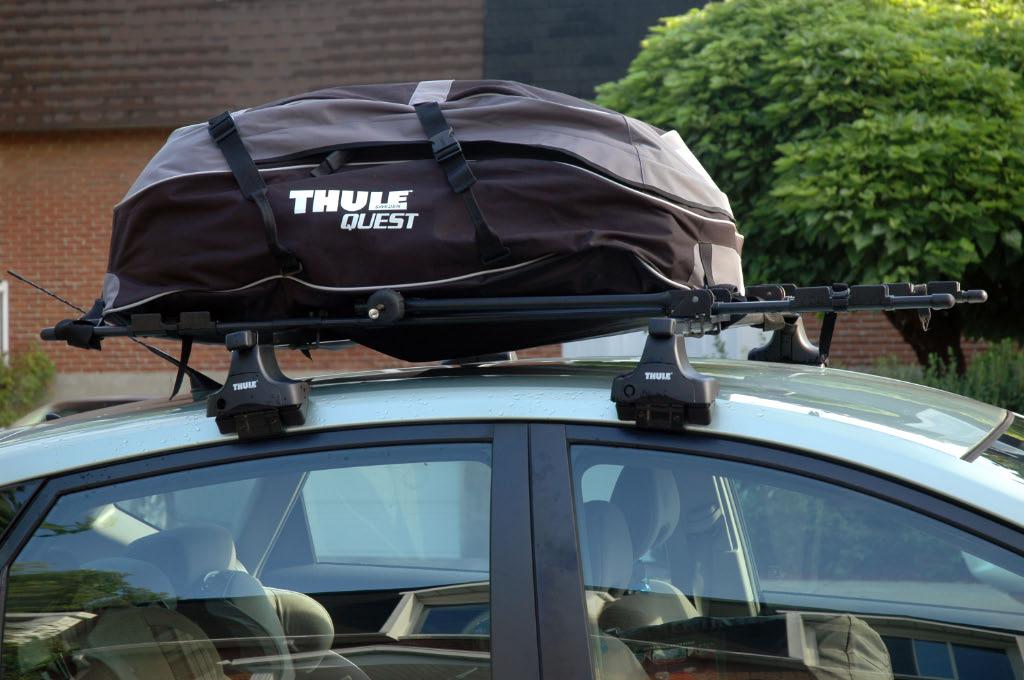 Effet d'un sac de toit sur la consommation d'une voiture -