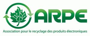 Logo ARPE - Association pour le recyclage des produits électronique du Québec