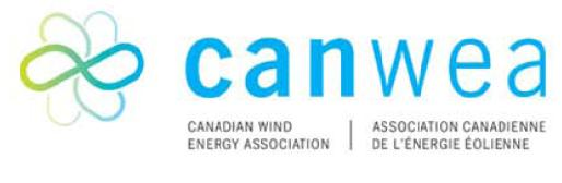 Logo Canwea - Association canadienne de l'énergie éolienne