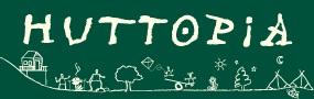 Logo Huttopia - éco camps tente Huttopia
