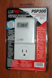 Thermostat pour prise de courant PSP300