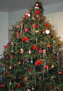Sapin de Noël - collecte spéciale recyclage