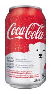 Canette Coca-Cola - don pour ours polaire