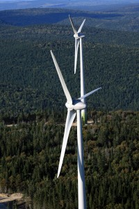 Investissement Caisse de dépot et de placement dans des parcs d'éoliennes