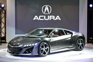Concept de la prochaine Acura NSX hybride