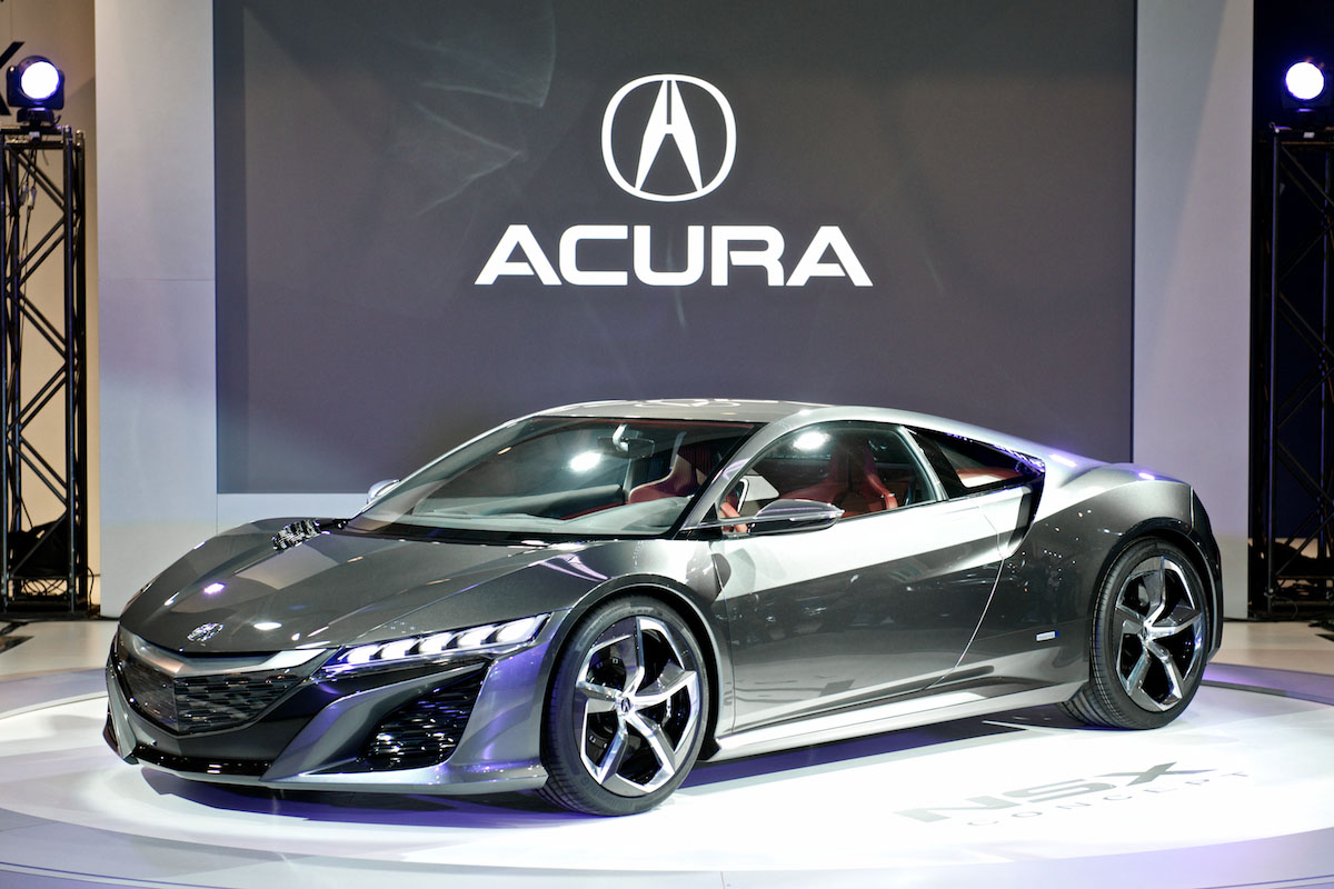 la prochaine acura nsx sera hybride. Black Bedroom Furniture Sets. Home Design Ideas