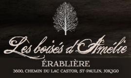 Logo Cabane à sucre Les boisés d'Amélie - bornes recharge pour voitures électriques