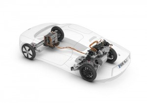 Chassis Volkswagen XL1