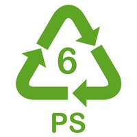 Plastique type 6 polystyrene