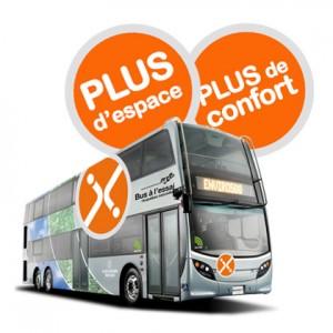 Autobus à deux étages - essai du RTC