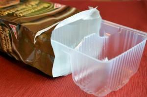 Barquette de biscuits en plastique de type 6 - polystyrène rigide