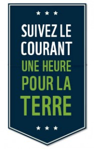 Une heure pour la Terre 2013 - arrondissement Anjou Montréal