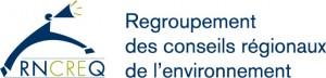 Logo RNCREQ - REGROUPEMENT NATIONAL DES CONSEILS REGIONAUX DE L'ENVIRONNEMENT DU QUEBEC