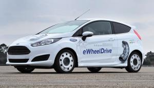 Ford Fiesta à moteurs-roues eWheelDrive de Schaeffler
