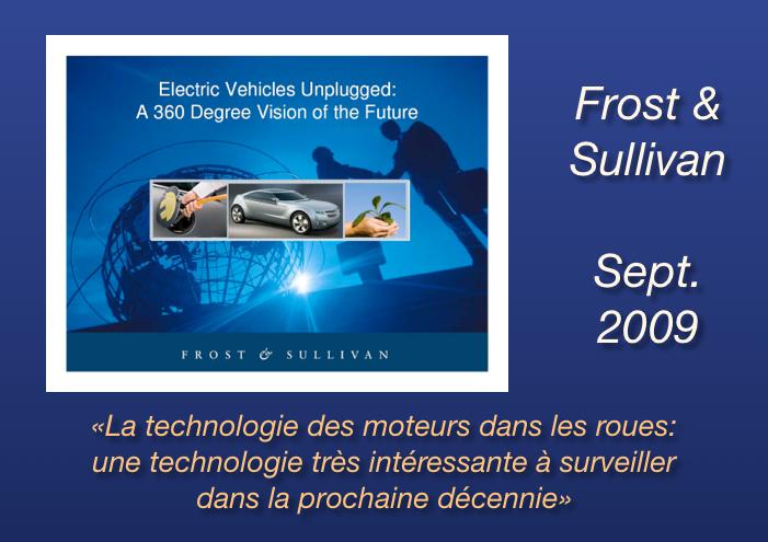Frost Sullivan - technologie moteurs-roues