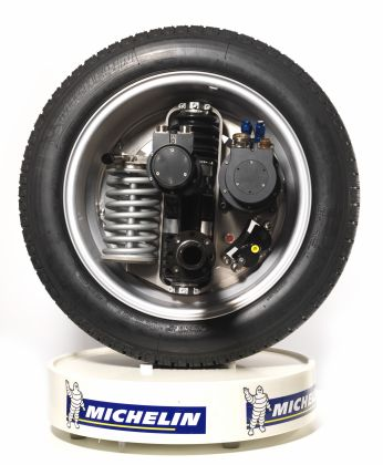 Michelin - moteur-roue Michelin Active-Wheel