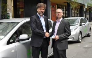 Auto-mobile, un projet pilote d'autos en libre-service sans réservation 100% électrique