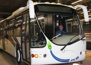 STL - Essai autobus électrique Designline