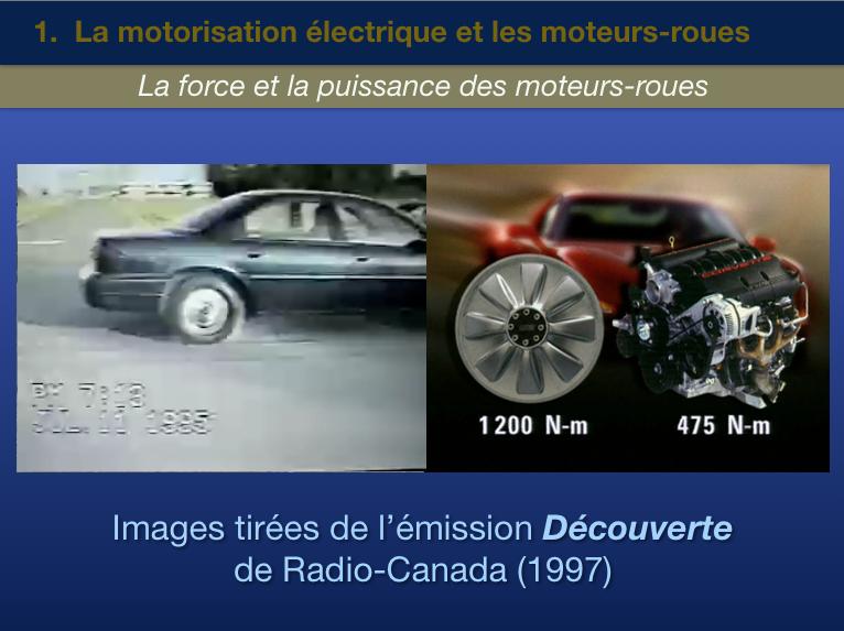 Reportage Découverte moteur-roue 1997