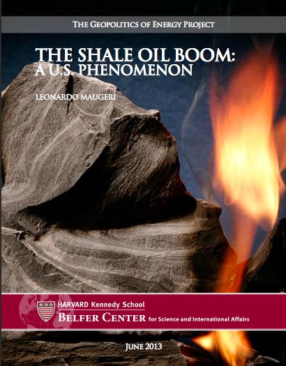 Rapport boom pétrolier États-Unis - Pierre Langlois