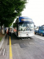 Autobus électrique recharge par induction OLEV