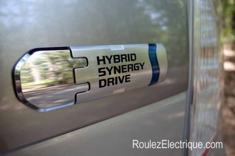 Logo Plug-In Prius branchable Hybrid Synergy Drive