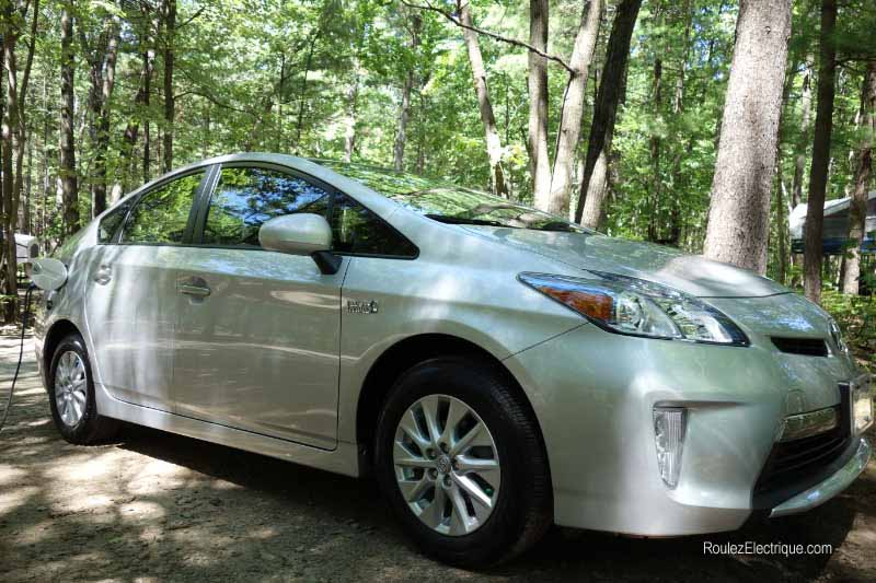 Toyota Prius branchable rechargeable 2013