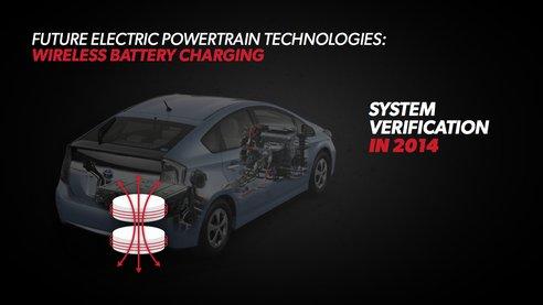 Système de recharge sans fil par induction Toyota Prius gen4