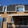 Panneaux solaires photovoltaïques maison Montréal