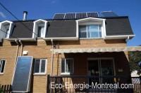 Panneaux solaires Montréal, Québec - panneaux photovoltaique et thermique ( chauffe-eau et chauffe-air )