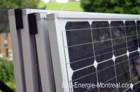 Mes panneaux solaires photovoltaique Solar World, à Montréal, Québec