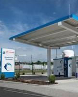 Station-service hydrogène Air Liquide en Allemagne