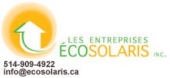 Ecosolaris - Installation panneaux solaires photovoltaiques Montréal , Québec