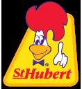 Logo rotisserie St-Hubert - compostage