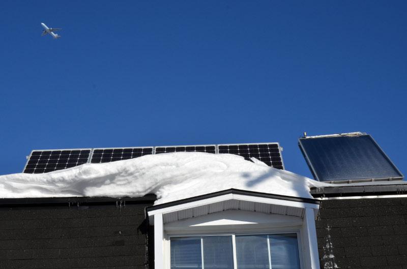 Panneaux Solaires Et Hiver Québécois: Une Relation D'Amour/Haine