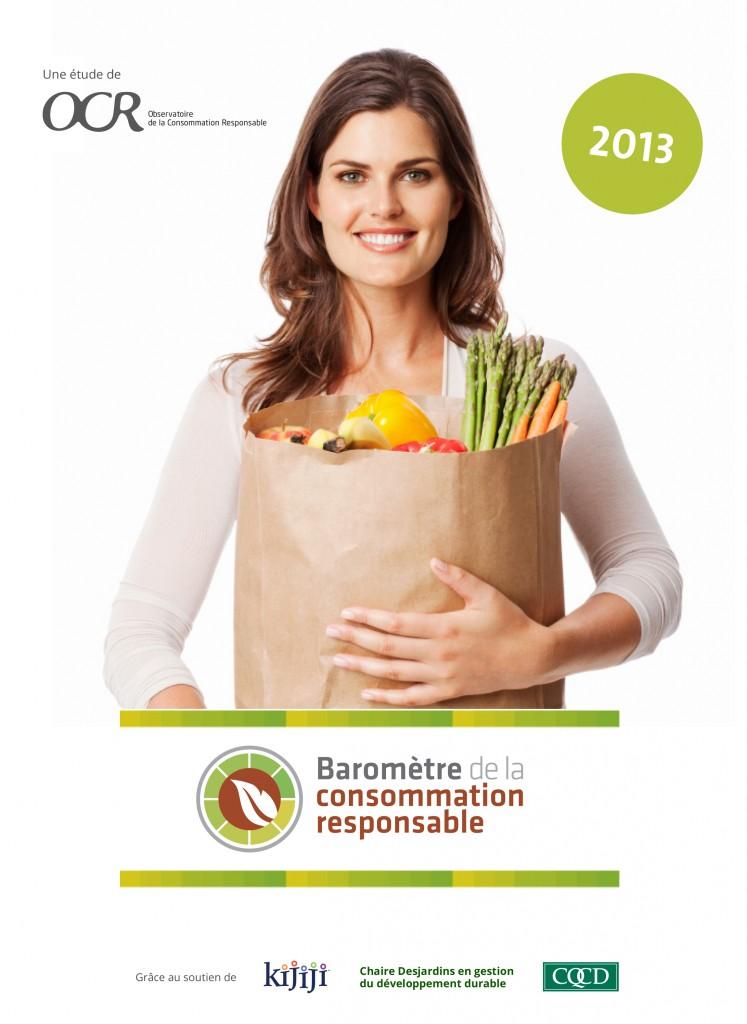 Résultat baromètre de la consommation responsable au Québec 2013