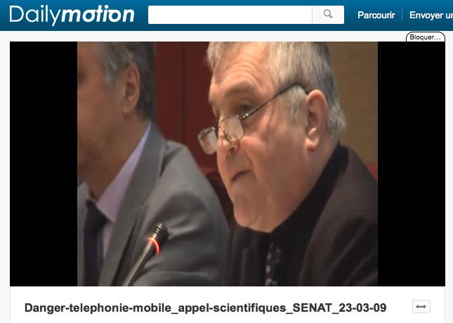 Professeur Belpomme, un médecin-chercheur qui travaille sur les problèmes d'électrosensibilité